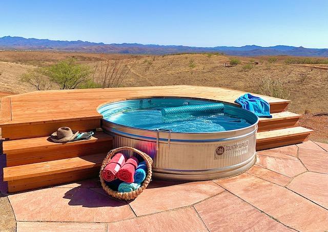 Salt water cowboy pool